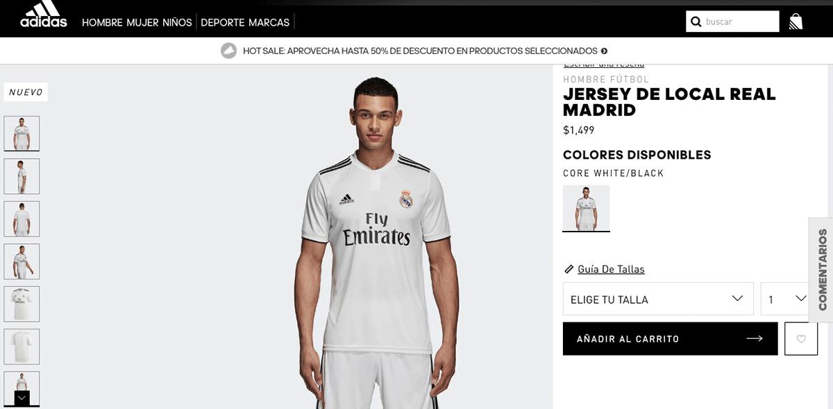 Real Madrid presentó su nuevo uniforme sin CR7