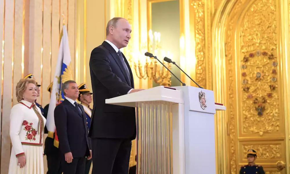 Vladimir Putin presidente de Rusia por cuarta vez
