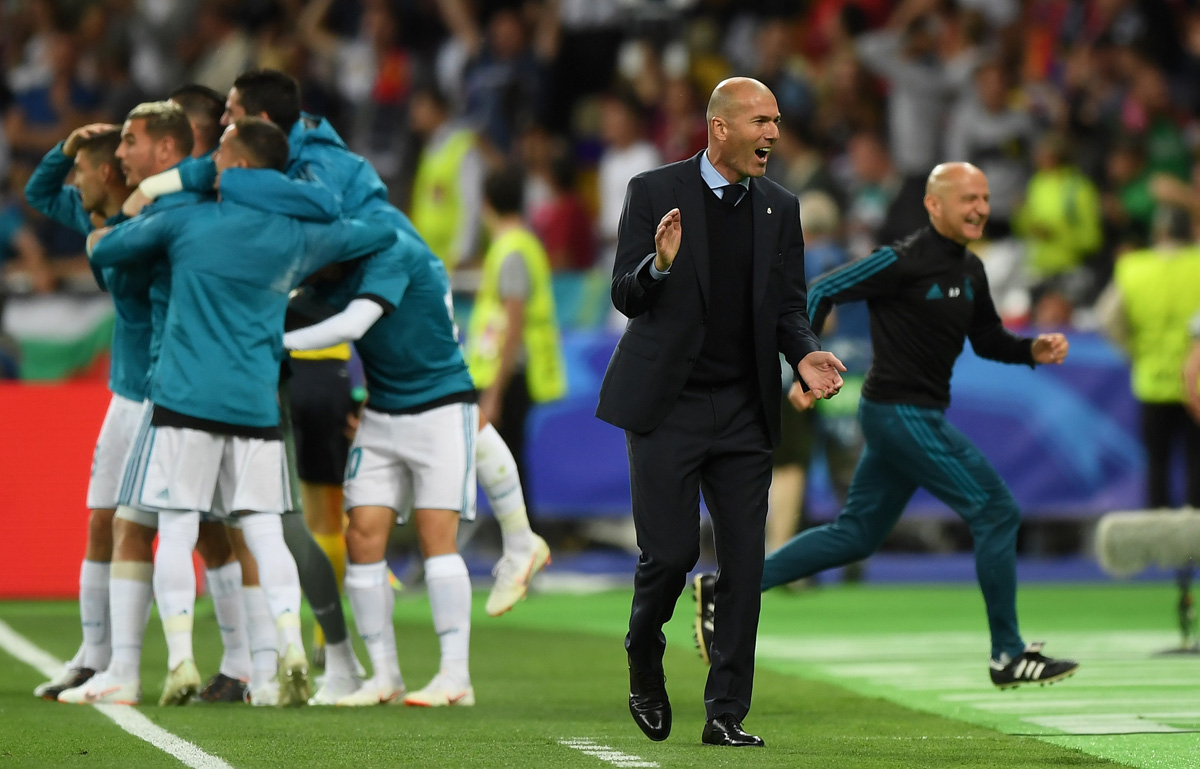 Zinedine Zidane Final Champions League