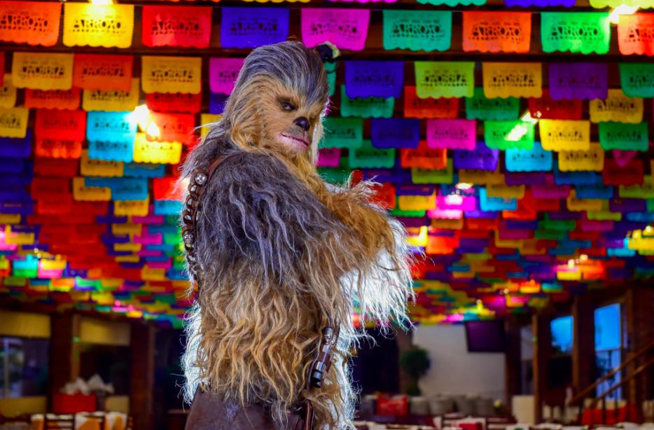 Chewbacca paseó por la Ciudad de México