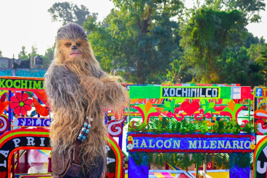 Chewbacca visita México