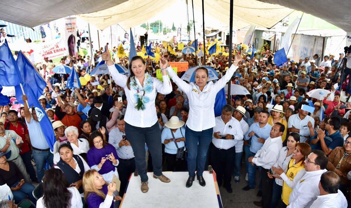 Erika Alonso, candidata PAN Puebla
