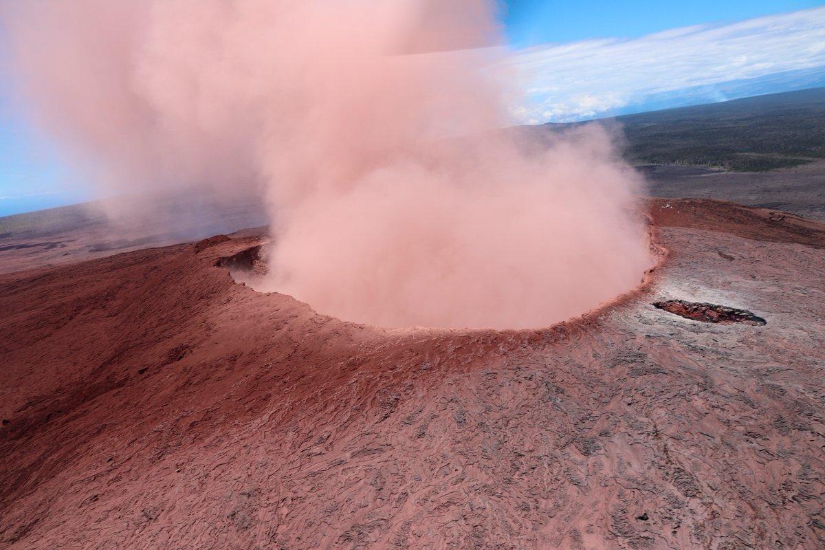 Las impactantes fotos de la erupción del volcán Kilauea de Hawai