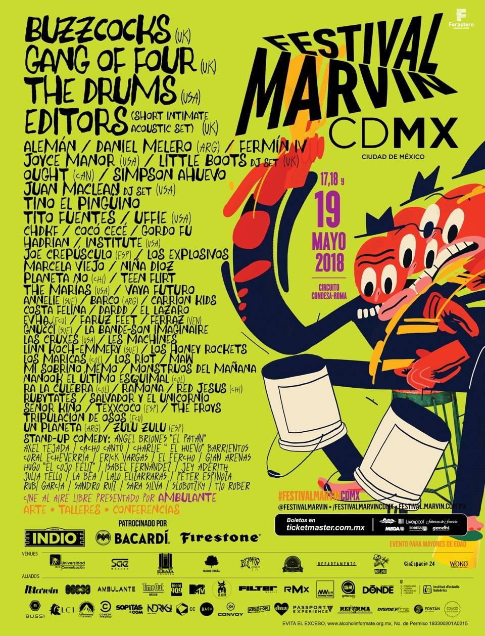 Cartel del Festival Marvin
