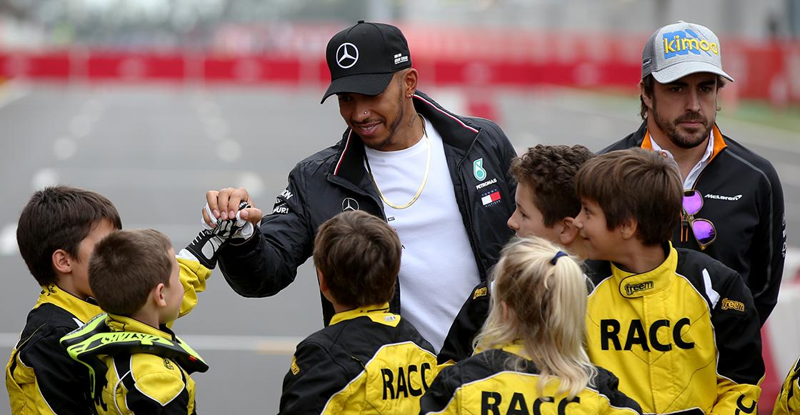 Hamilton GP de España