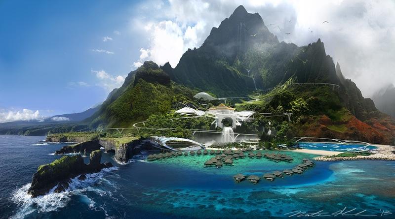Awesome! Este es el lugar donde rodaron las películas de 'Jurassic' y 'Lost'
