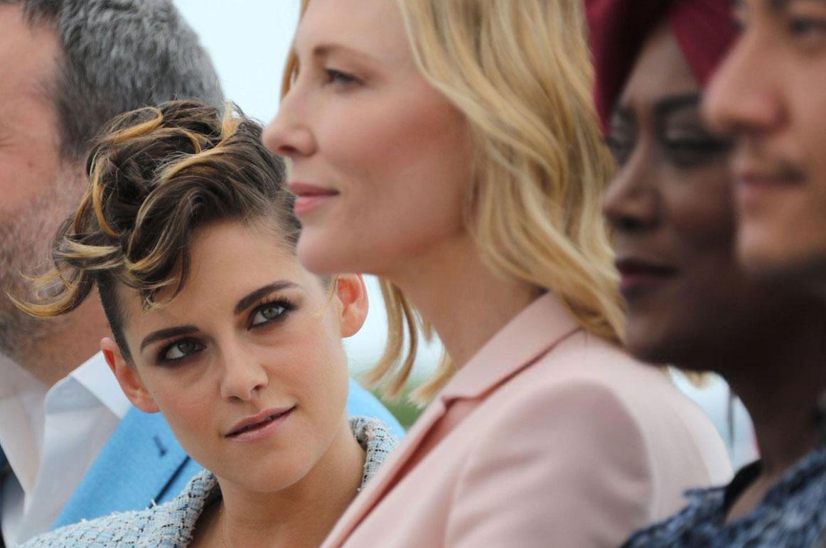 Quédate con alguien que te vea como Kristen Stewart a Cate Blanchett en Cannes