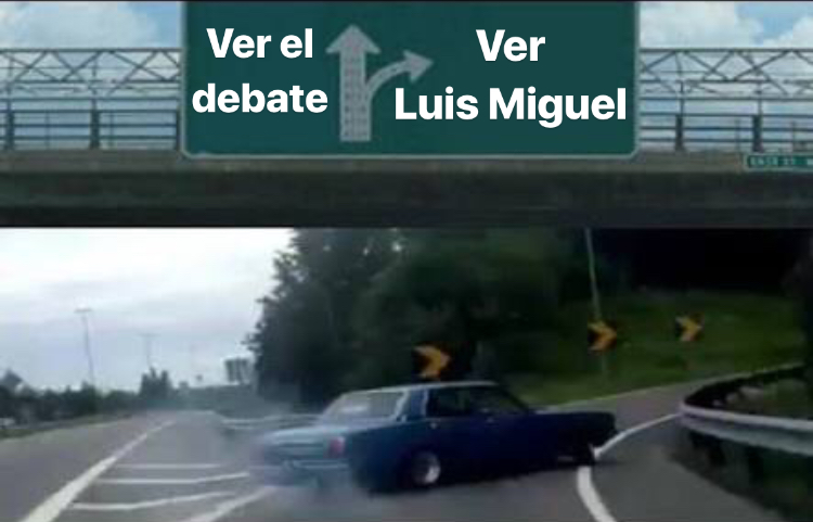 Debate vs Luis Miguel
