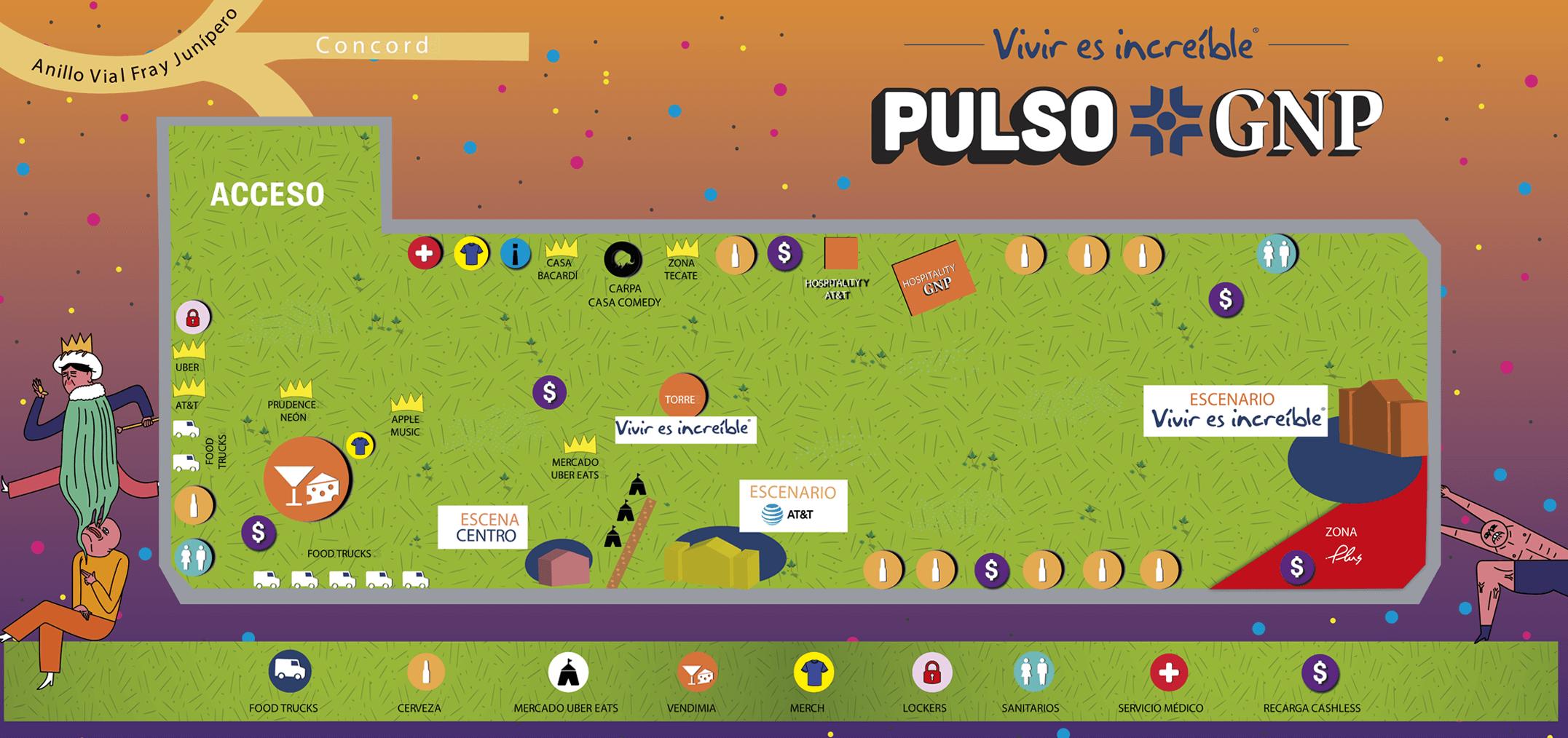¡Aquí todo lo que debes saber de la primera edición del Festival Pulso 2018!