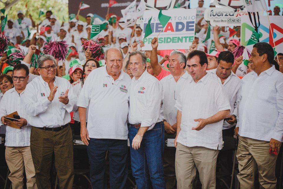 José Antonio Meade y Carlos Romero Deschamps