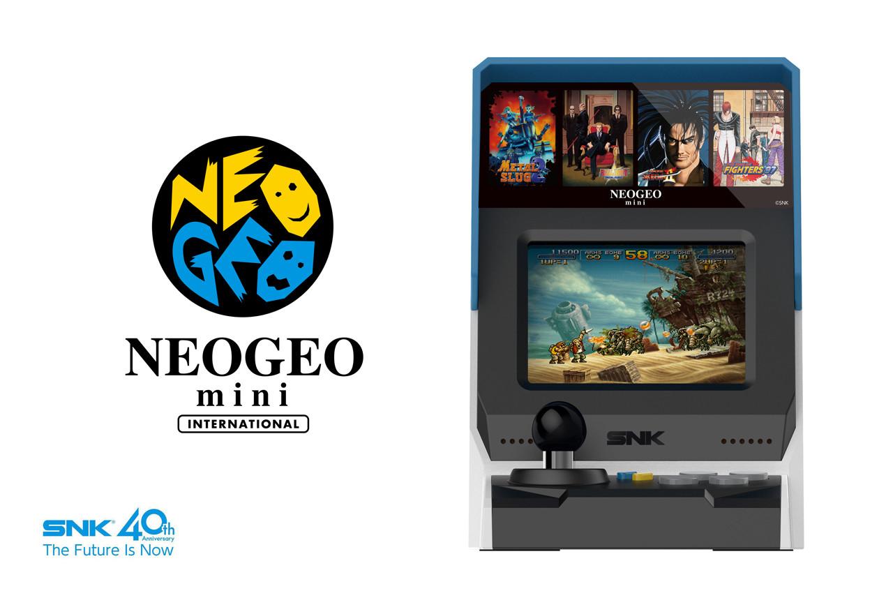 Neo Geo mini estará a la venta