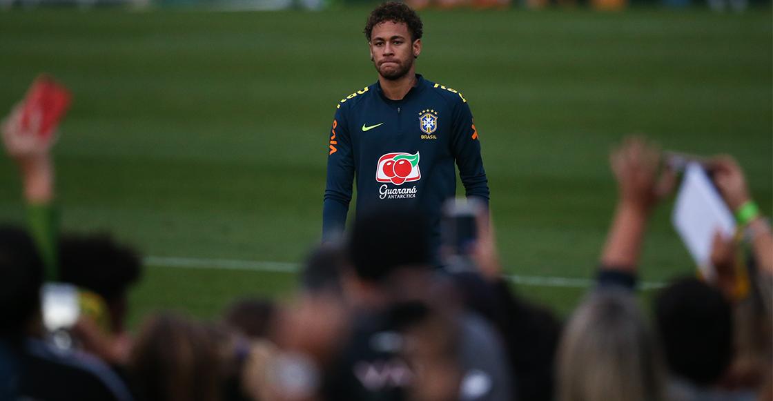 Neymar niega su llegada al Real Madrid