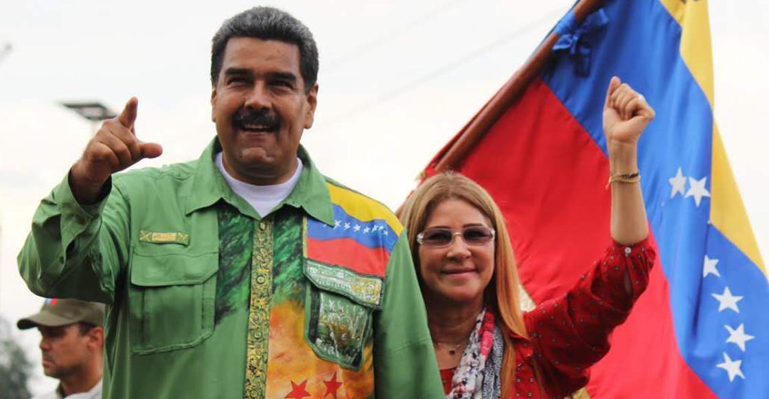 Así saludó Nicolás Maduro a su audiencia imaginaria