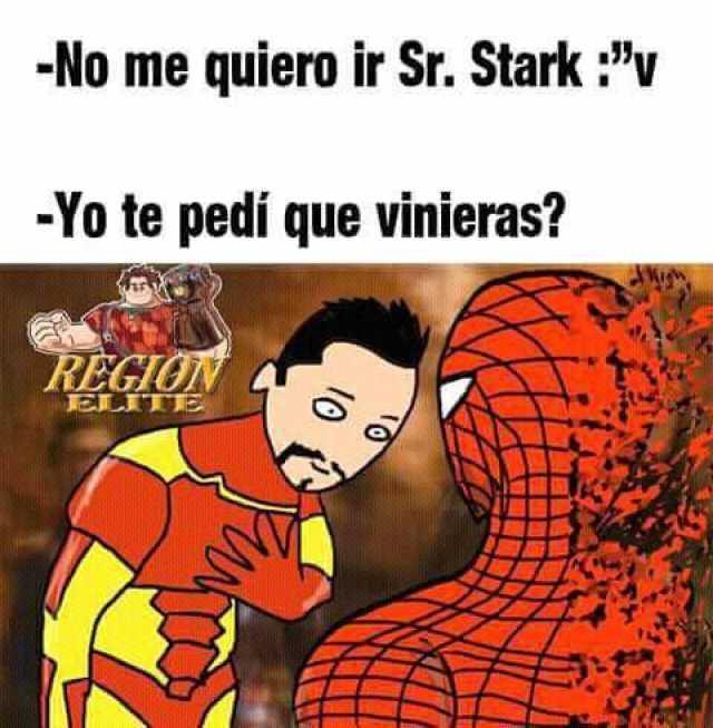 Haste a un lado Spidey, que ya llegó el meme del Capitán América