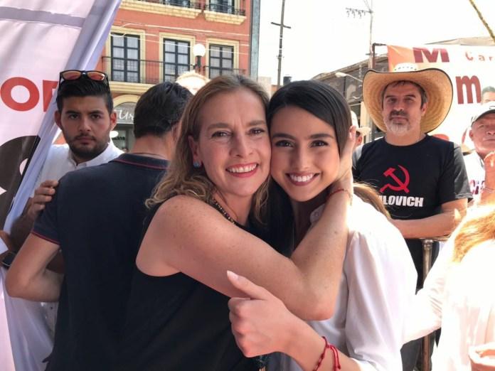 Beatríz Muller y Paola González
