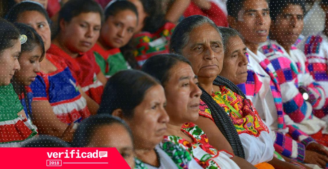 Representación indígena en elecciones 2018 es insuficiente a pesar de los mecanismos del INE