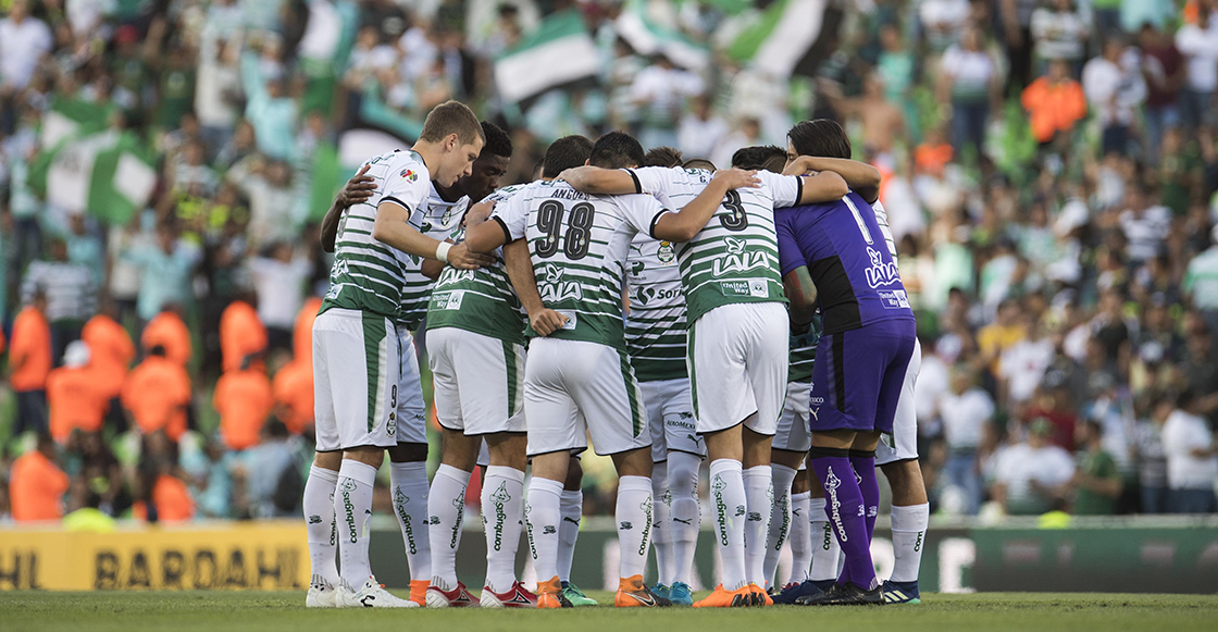 Santos 4-1 América