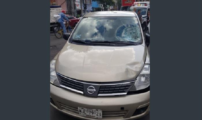 Auto utilizado para secuestro de colombianos