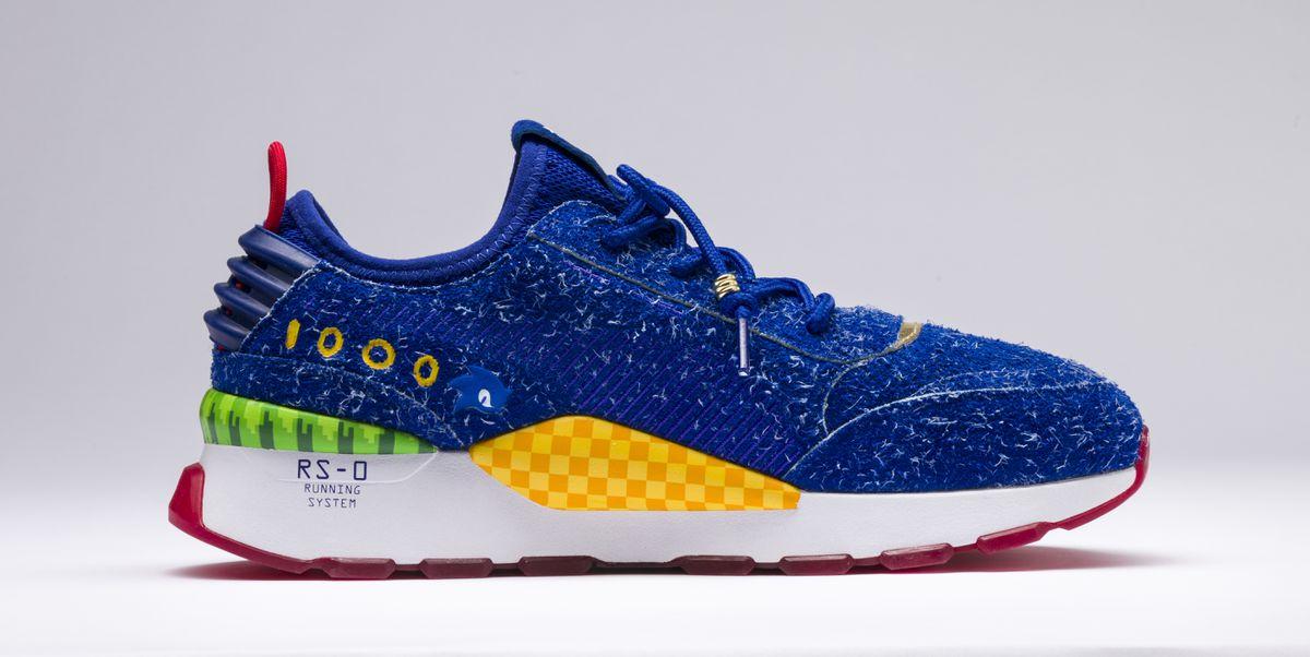 Los tenis inspirados en Sonic The Hedgehog son la nueva sensación de todos los gamers