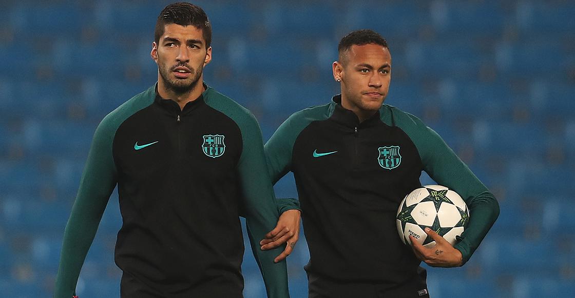 Luis Suárez y Neymar