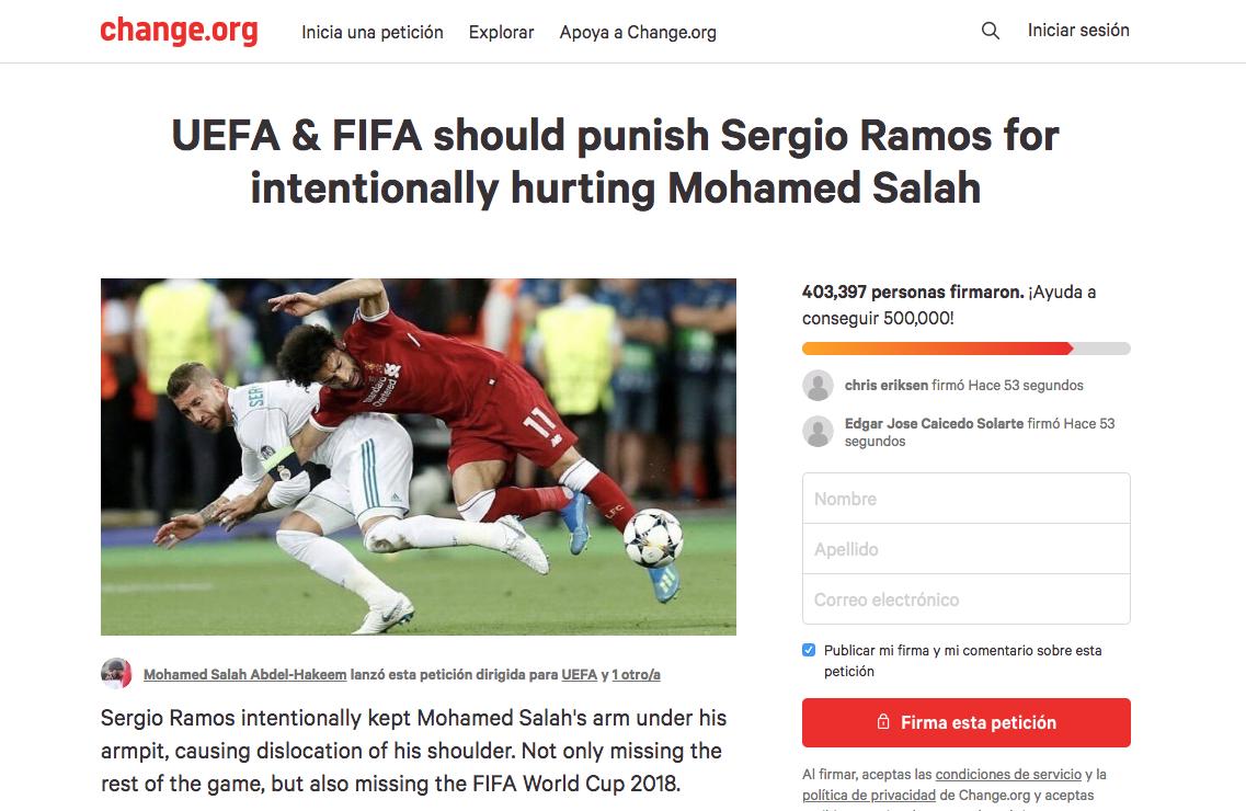 Sergio Ramos fuera del mundial?